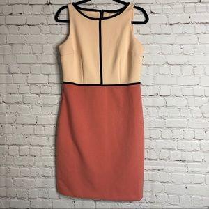 Loft Sleeveless Career Dress Midi